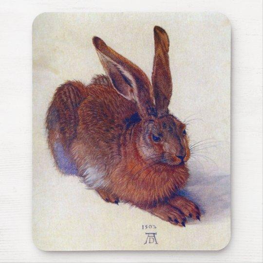 Renaissance Art, Young Hare by Albrecht Durer Mouse Pad