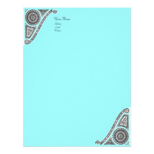 RENAISSANCE, blue Letterhead