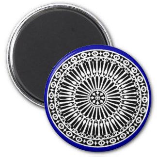 RENAISSANCE blue Fridge Magnet