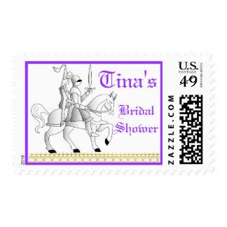 Renaissance Bridal Shower #2 Postage Stamp