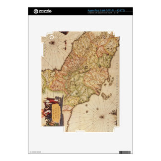 Renaissance Cartography Decal For iPad 3
