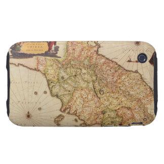 Renaissance Cartography iPhone 3 Tough Case