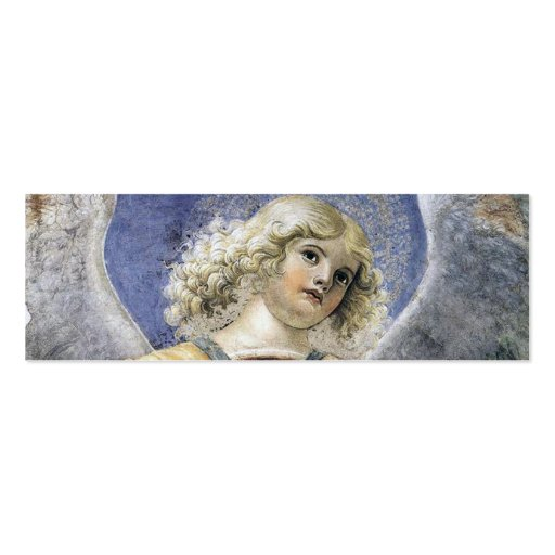 Renaissance Christmas Angel Mini Bookmarks Business Card Templates