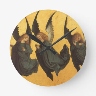 Renaissance Christmas Angels, Master of Housebook Round Clock