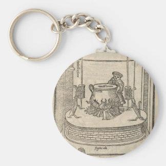 Renaissance cook keychain