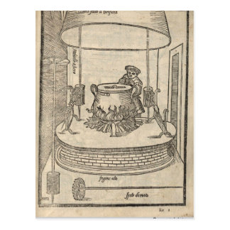 Renaissance cook postcard