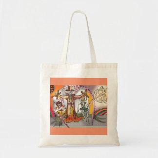 Renaissance Deco Cirque Series - Puppet Master Tote Bag