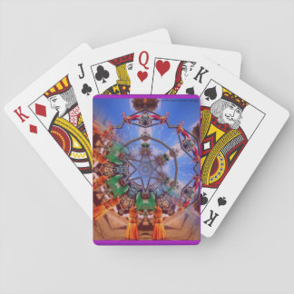 Renaissance Fair Kaleidoscope Playing Cards