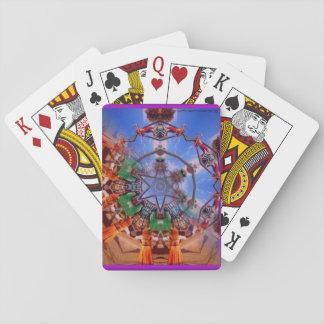 Renaissance Fair Kaleidoscope Playing Cards