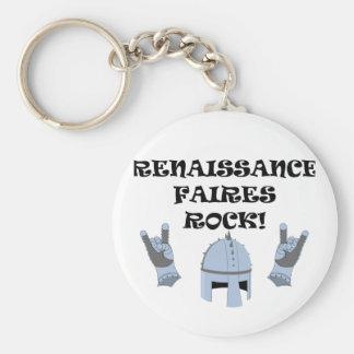Renaissance Faires Rock Keychains