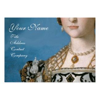 RENAISSANCE FASHION JEWELRY COSTUME DESIGNER LARGE BUSINESS CARD