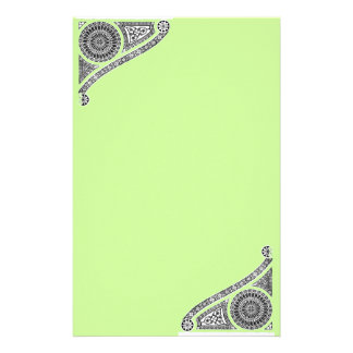 RENAISSANCE ,green Stationery