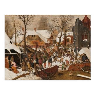 Renaissance Holy Nativity Postcard