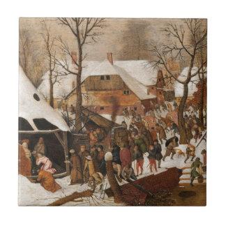 Renaissance Holy Nativity Tiles
