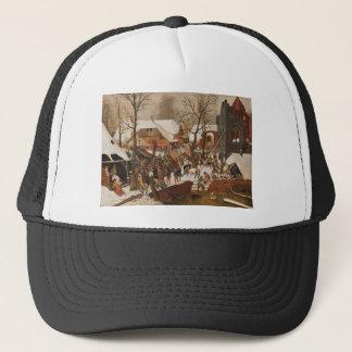 Renaissance Holy Nativity Trucker Hat