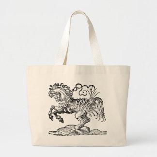 Renaissance Horse No. 1 Totebag Large Tote Bag