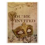 Renaissance Invitation Sepia