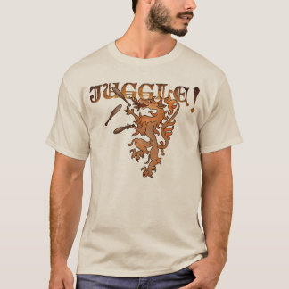 Renaissance Juggling Lion T-Shirt