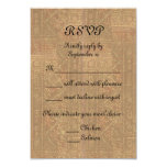 Renaissance Lady and Knight Medieval Wedding RSVP Personalized Invitations