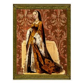 Renaissance Lady Postcard