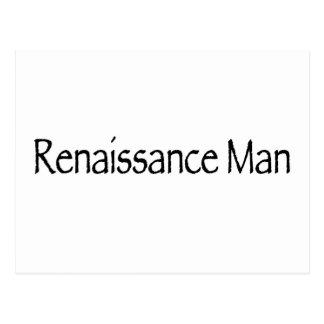 Renaissance Man Postcard