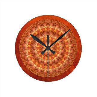 Renaissance Mandala Round Clock
