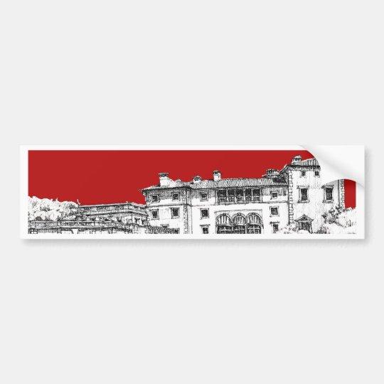 Renaissance museum red bumper sticker