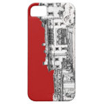Renaissance museum red iPhone 5 cases