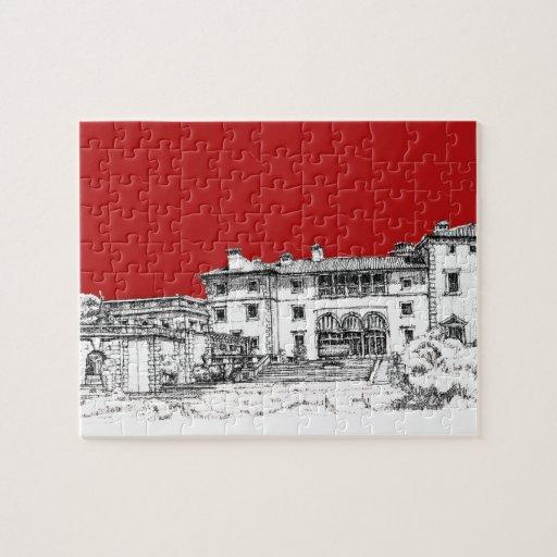 Renaissance museum red puzzles
