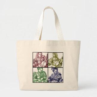 Renaissance Music Quartet Bag