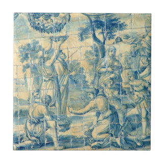 Renaissance Picnic - Azulejo tile