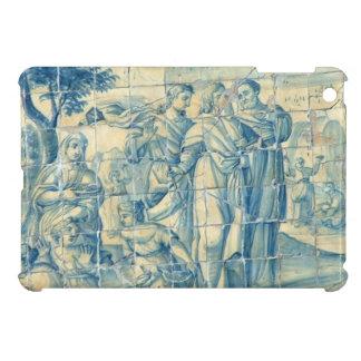 Renaissance Picnic - Azulejo Tile iPad Mini Covers