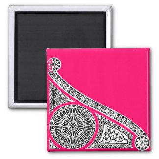 RENAISSANCE pink Fridge Magnet