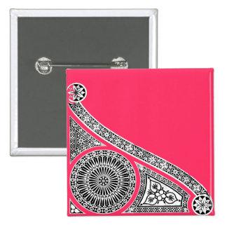 RENAISSANCE ,pink Pinback Button