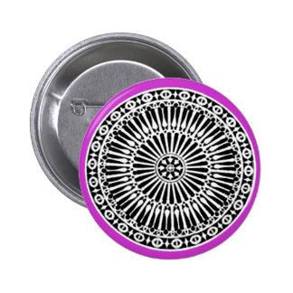 RENAISSANCE ,purple violet Pinback Button
