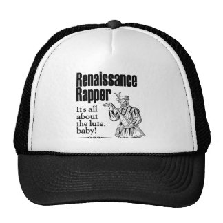Renaissance Rapper – It's all about the lute, baby Mesh Hats