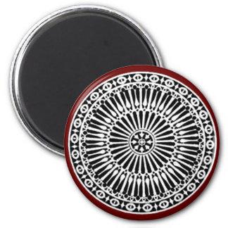 RENAISSANCE red Fridge Magnets