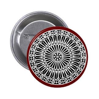 RENAISSANCE ,red Pinback Button