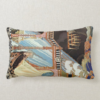 Renaissance Surrealism Lumbar Pillow