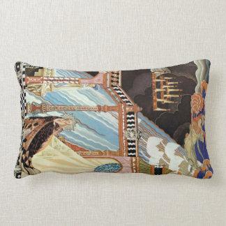 Renaissance Surrealism Throw Pillow