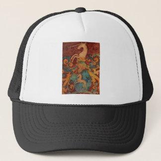 Renaissance Unicorn art Trucker Hat