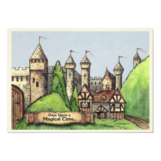 Renaissance Village 5x7 Paper Invitation Card