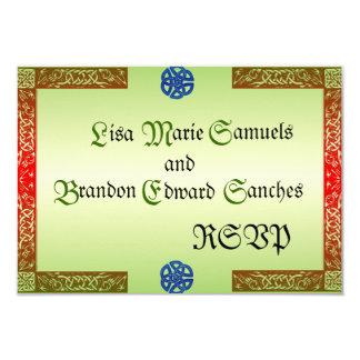 Renaissance Wedding RSVP Cards