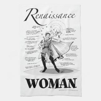 Renaissance Woman Kitchen Towels