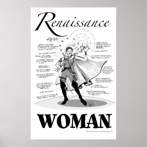 Renaissance Woman Poster