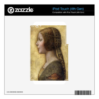 Renaissance Woman Skin For iPod Touch 4G