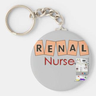 Renal Nurse Fresenius Machine Design Keychain