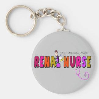 """Renal Nurse """"Your Kidneys Matter"""" Keychains"""