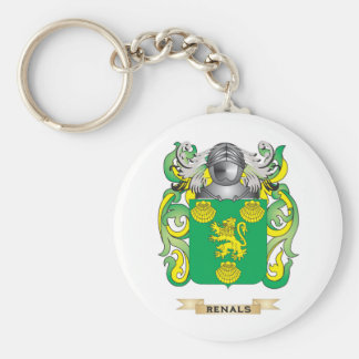Renals Coat of Arms (Family Crest) Keychains