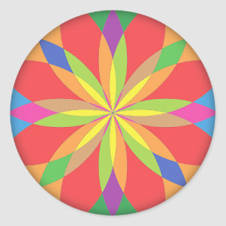 RenascencePub Beautiful Round Stickers! Classic Round Sticker